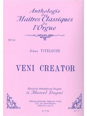 Jehan Titelouze - Veni Creator - Partition - di-arezzo.fr