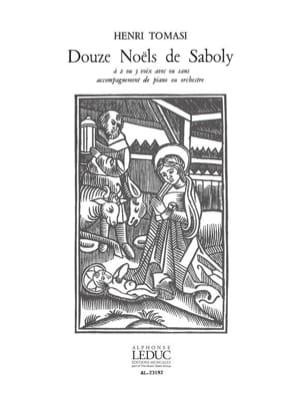 Henri Tomasi - 12 Noëls de Saboly - Partition - di-arezzo.fr