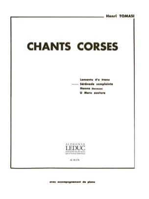 Henri Tomasi - Sérénade Complainte - Partition - di-arezzo.fr