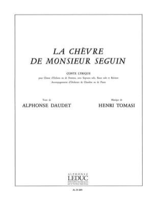Henri Tomasi - La Chèvre de M. Seguin - Partition - di-arezzo.fr