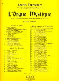Dominica 3. Adventus. Orgue Mystique 1 Charles Tournemire laflutedepan