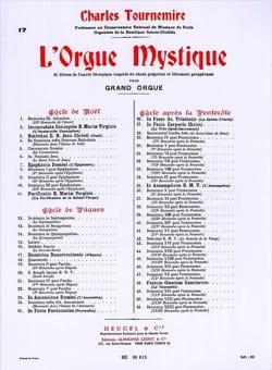 Pâques Opus 56. Orgue Mystique 17 - laflutedepan.com