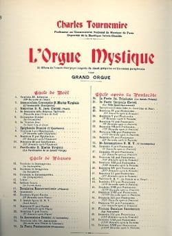 Charles Tournemire - Sacré-Coeur Op. 57. Orgue Mystique 28 - Partition - di-arezzo.fr