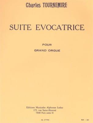 Suite Evocatrice Opus 74 - Charles Tournemire - laflutedepan.com