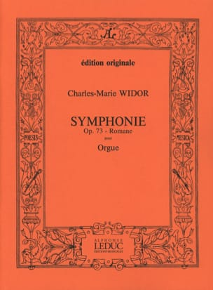 Charles-Marie Widor - Roman Symphony Opus 73. - Sheet Music - di-arezzo.co.uk