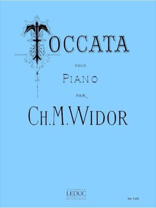 Charles-Marie Widor - Toccata (Extrait Symphonie N°5) Opus 42 - Partition - di-arezzo.fr