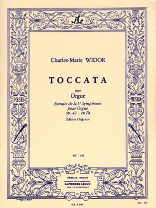 Toccata WIDOR Partition Orgue - laflutedepan