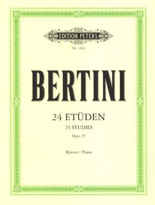 Henri Bertini - 24 Etudes Opus 29 - Partition - di-arezzo.fr