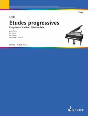 Etudes Progressives Volume 6. Armand Ferté Partition laflutedepan