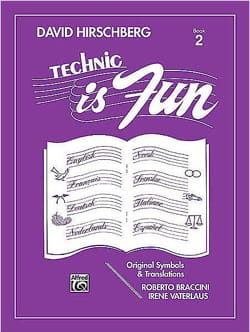 David Hirschberg - Technic is fun Volume 2 - Sheet Music - di-arezzo.com