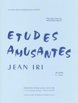Jean Iri - Etudes Amusantes Volume 1 - Partition - di-arezzo.fr