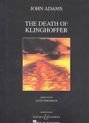Death Of Klinghoffer John Adams Partition Opéras - laflutedepan