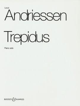 L Andriessen - Trepidus - Partition - di-arezzo.fr