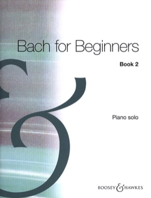 Bach For Beginners Vol 2 - BACH - Partition - Piano - laflutedepan.com