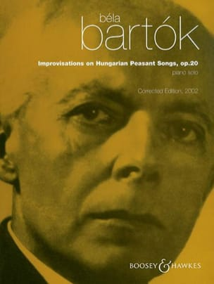 Bela Bartok - Opus 20 improvisations on Hungarian Peasant Songs - Sheet Music - di-arezzo.co.uk