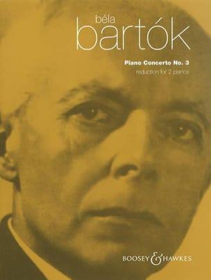 BARTOK - Concerto pour piano n° 3 - Partition - di-arezzo.fr