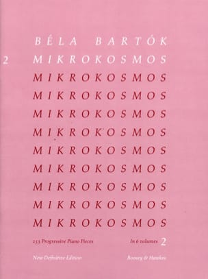 BARTOK - Mikrokosmos Volume 2 - Sheet Music - di-arezzo.co.uk