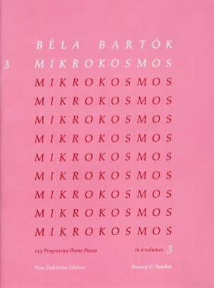 BARTOK - Mikrokosmos Volume 3 - Sheet Music - di-arezzo.co.uk