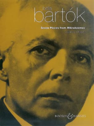7 Pieces From Mikrokosmos. 2 Pianos BARTOK Partition laflutedepan