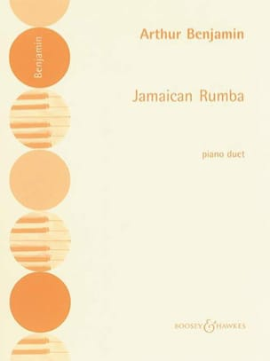 Jamaican Rumba. 4 Mains - Arthur Benjamin - laflutedepan.com