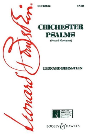 Leonard Bernstein - Chichester Psalms, 2nd Mvt - Sheet Music - di-arezzo.co.uk