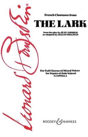 Leonard Bernstein - The Lark - Partition - di-arezzo.fr