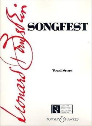 Songfest Leonard Bernstein Partition Chœur - laflutedepan