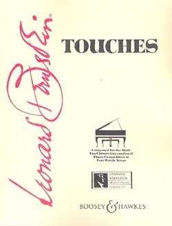 Touches BERNSTEIN Partition Piano - laflutedepan