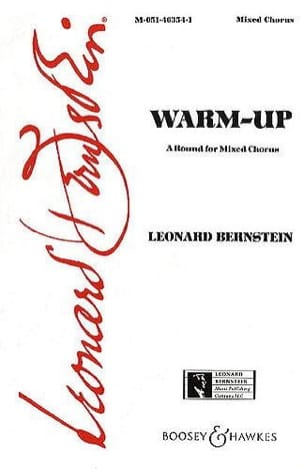 Warm Up - Leonard Bernstein - Partition - Chœur - laflutedepan.com