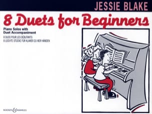 Jessie Blake - 8 Duets For Beginners - Sheet Music - di-arezzo.co.uk