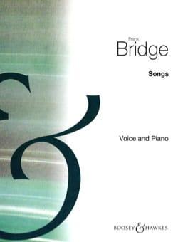 Song Album - Frank Bridge - Partition - Mélodies - laflutedepan.com