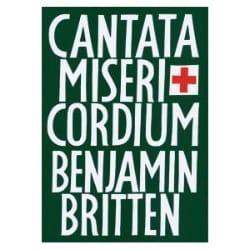 Benjamin Britten - Cantata Misericordium Opus 69 - Partition - di-arezzo.fr