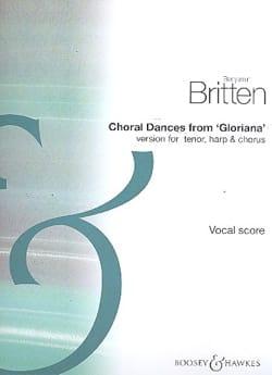 Benjamin Britten - Choral Dances From Gloriana - Partition - di-arezzo.fr