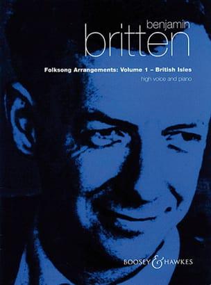 Folksongs Volume 1. Voix Haute British Isles BRITTEN laflutedepan