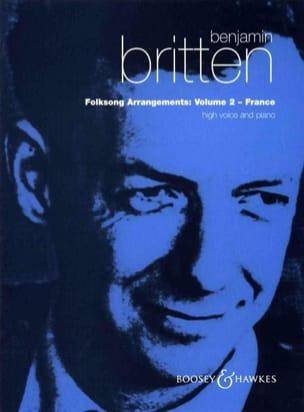 Benjamin Britten - Folksongs Volume 2 Voix Haute. France - Partition - di-arezzo.fr