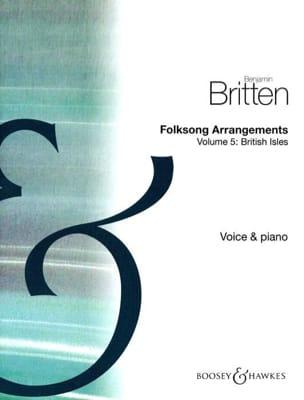 Folksongs Volume 5 Voix Haute British Isles - laflutedepan.com