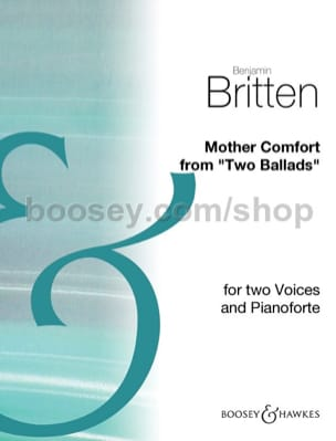 Mother Comfort Benjamin Britten Partition Duos - laflutedepan