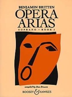 Benjamin Britten - オペラ・アリアスソプラノ第2巻 - 楽譜 - di-arezzo.jp