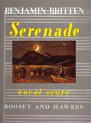 Benjamin Britten - Serenade Opus 31 - Sheet Music - di-arezzo.com