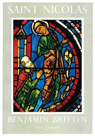 Benjamin Britten - Saint Nicolas Cantate - Partition - di-arezzo.fr