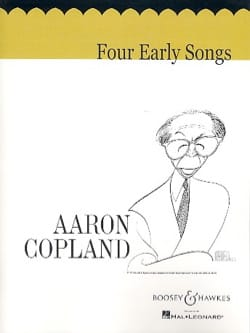 4 Early Songs COPLAND Partition Mélodies - laflutedepan