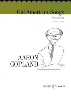 Aaron Copland - Old American Songs Bd 2 - Partition - di-arezzo.fr