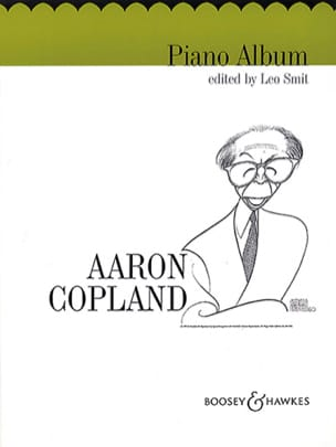 Aaron Copland - Piano Album - Partition - di-arezzo.fr