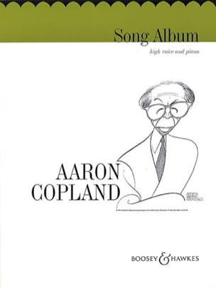 Song Album - Aaron Copland - Partition - Mélodies - laflutedepan.com