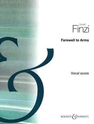 Farewell To Arms Gerald Finzi Partition Mélodies - laflutedepan