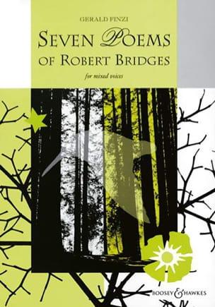 Gerald Finzi - 7 Poems Of Robert Bridges - Partition - di-arezzo.fr