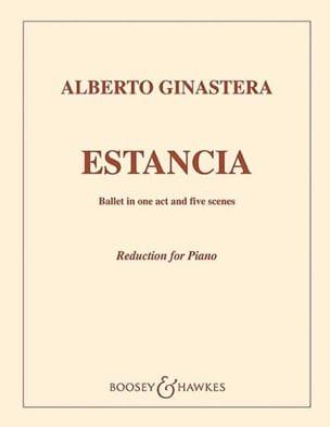 Estancia Op. 8 GINASTERA Partition Piano - laflutedepan