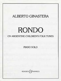 Rondo Alberto Ginastera Partition Piano - laflutedepan