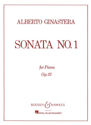Alberto Ginastera - Sonata For Piano N ° 1 Opus 22 - Sheet Music - di-arezzo.com