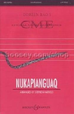 Nukapianguaq Stephen Hatfield Partition Chœur - laflutedepan